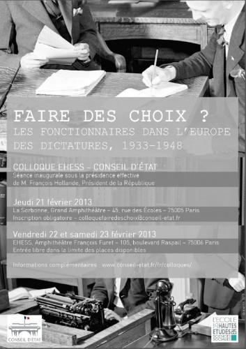 Affiche du colloque © EHESS (par Arnaud Dattola)